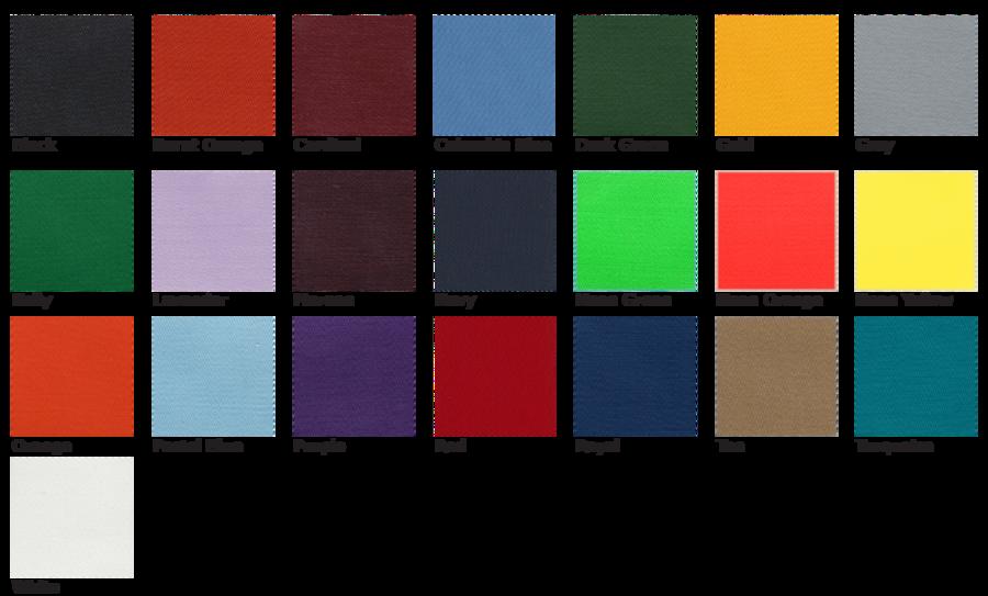 Transfer Magic Color Chart